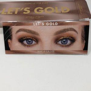 Sephora Makeup - Make Up Forever LET'S GOLD Eye Palette